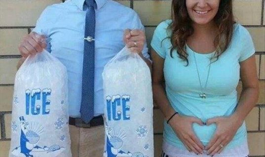 Coolest Pregnancy Announcement