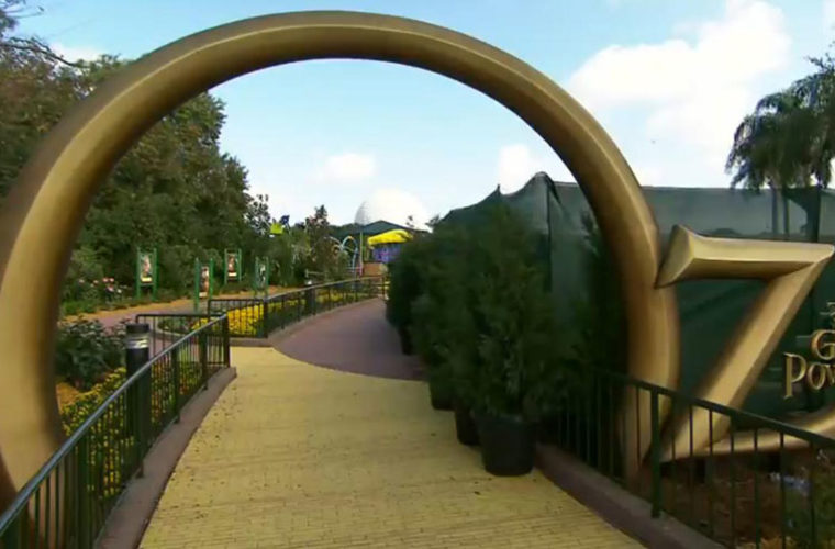 Follow The Yellow Brick Road Land Of Oz Amut Park Reopens