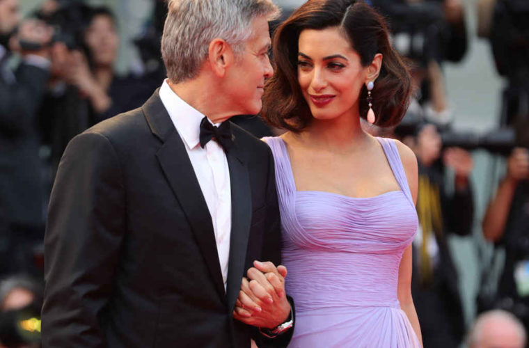 George Clooney Revealed the Inspiration Behind His Twins' Totally Normal Names
