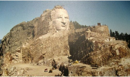 For Over 70 Years The Crazy Horse Memorial Has Been Under Construction, It's Still Not Finished